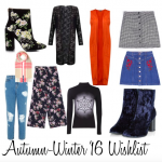 Autumn – Winter '16 Wishlist